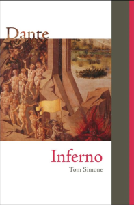 Cover art for Simone'stranslation of Dante's Inferno is pictured