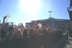 SpringFest crowd
